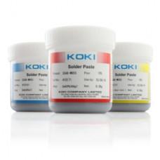 KOKI SE48-M955. Паяльная паста с эффектом самовыравнивания