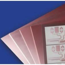 Стеклотекстолит  СВЧ RO4003C  18/18  0.2 мм.  150*260 мм.